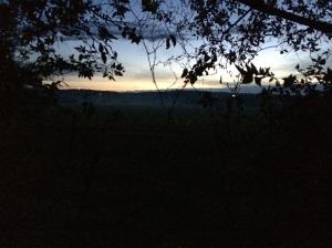 Tuesday morning sunrise at Camp Coho.