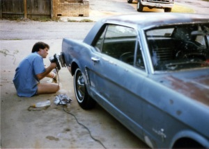 Painting the Mustang 82K01 copy